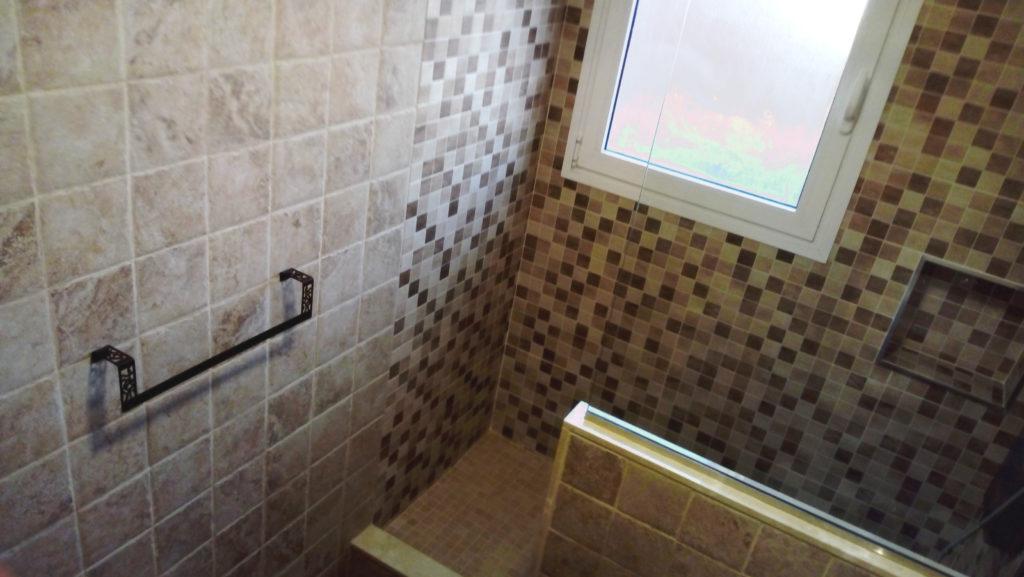 reforma de baño en La Laguna con ducha de obra