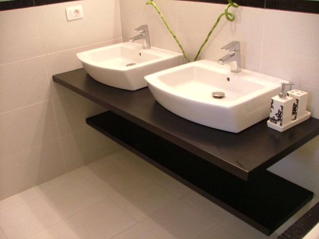 baño de diseño, alto standing